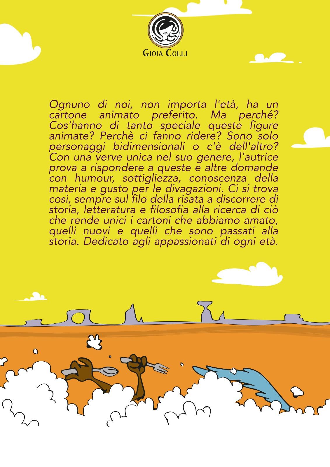 Gioia Colli - Cartoni Esaminati - Retro di copertina